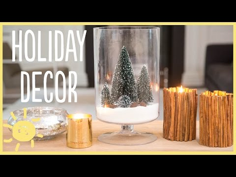 DIY | Holiday Decorations (Cute & Easy!!!)