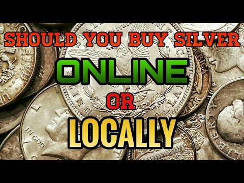 Should You Buy Silver Online or Locally? - TTCoins Answers!