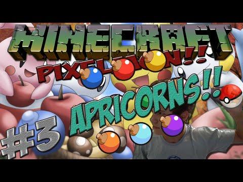 PixelMon #3 - Apricorns!!!