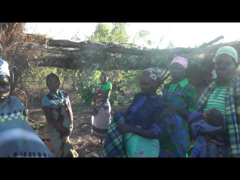 Life in a remote village in Mozambique