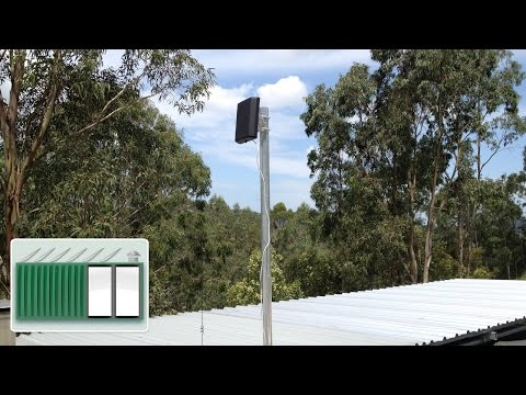 Shipping Container House - Improve mobile broadband reception with g-spotter antenna