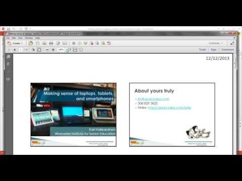 Saving PowerPoint to PDF for printing