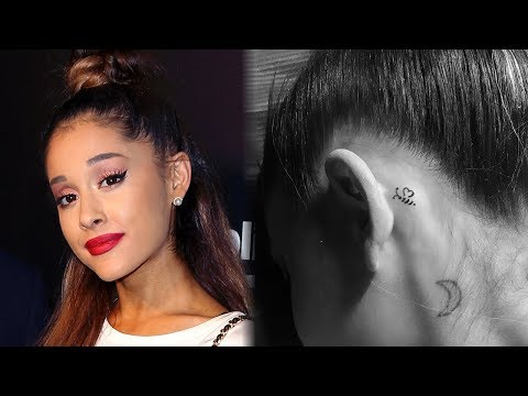 Ariana Grande Debuts Never-Before-Seen Bee Tattoo In Honor of Manchester