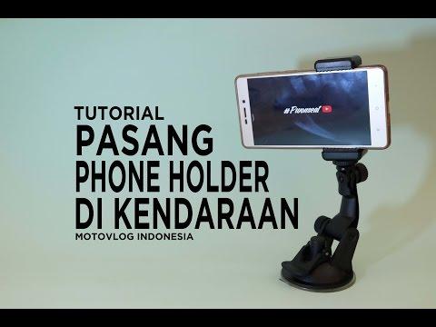 [TUTORIAL]: Cara Praktis Pasang Phone Holder Di Motor / Mobil #TipsnTrick