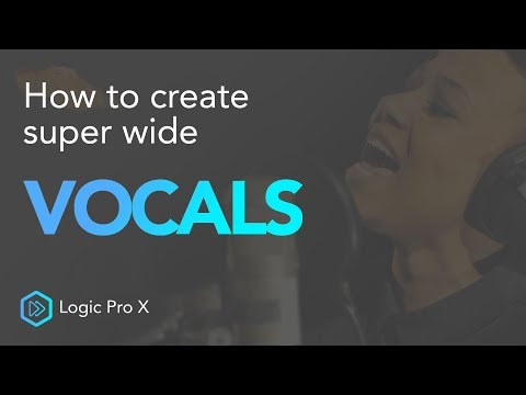 Create Wide Stereo Vocals   Logic Pro X