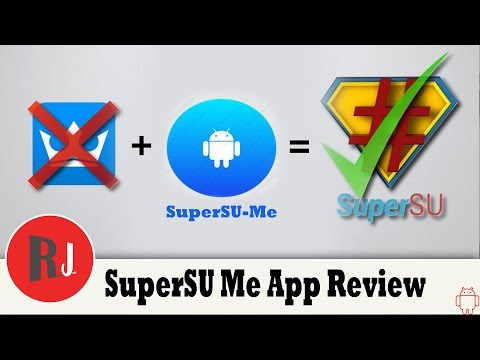 SuperSU Me: Replace Kingroot with SuperSu app with one click