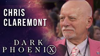 Legendary X-Men writer Chris Claremont at the X-Men: Dark Phoenix world premiere!