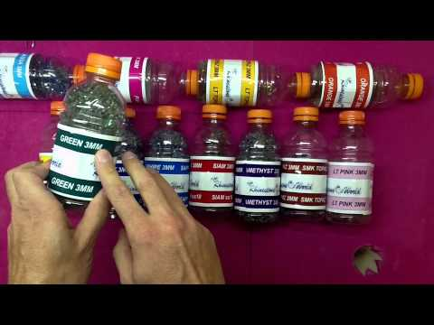 How to Store and Label TRW Hot Fix Rhinestones