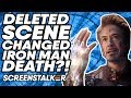 Deleted Avengers Endgame Scene CHANGED Iron Man DEATH ScreenStalker Movie News