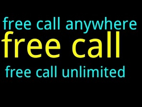 unlimited free calls from internet to any mobile