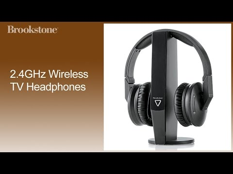 2.4GHz Wireless TV Headphones Complete How To Video