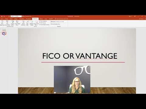 FICO score vs Vantage Score