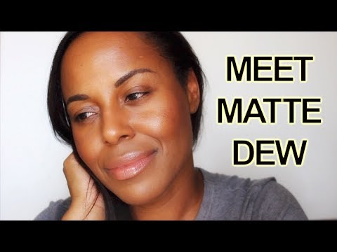 FOUNDATION HACK - How to Add A Dewy Glow To Matte Foundation I ByBare