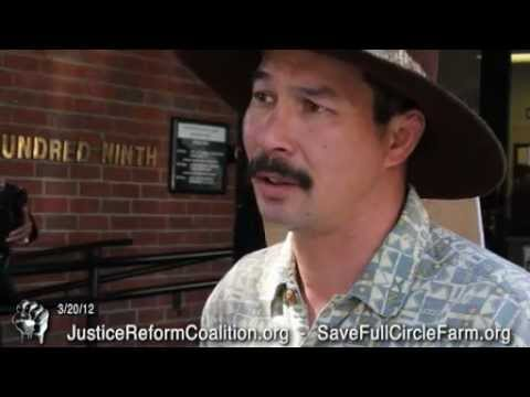 Save Full Circle Farm - Occupy Sacramento Focuses on US Bank at Foreclosure Hearing Tuesday