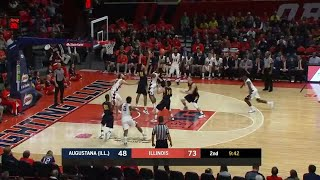 Hustle Play Leads to Finke Dunk vs. Augustana