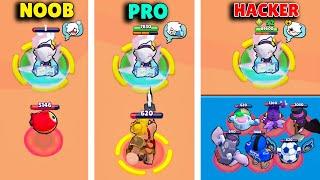 NOOB vs PRO vs HACKER!   Brawl Stars Funny Moments & Glitches & Fails #235