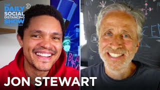 """Jon Stewart Talks Confederate Statues, COVID-19 & """"Irresistible"""" 