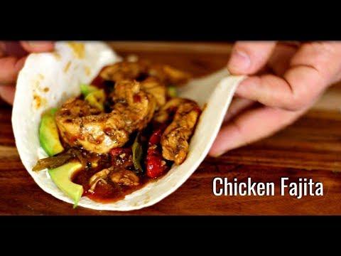 Chicken Fajita Recipe - How to Make Mexican Fajitas - International Cuisines