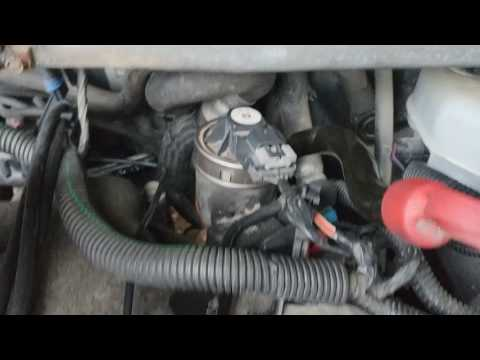 How to change EGR valve 99 to 05 Chevy Venture