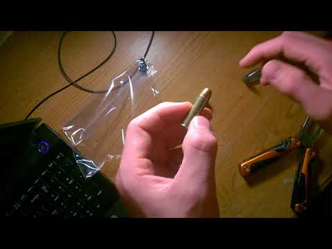 How to make a bullet necklace !!!! WARNING DANGEROUS !!!!