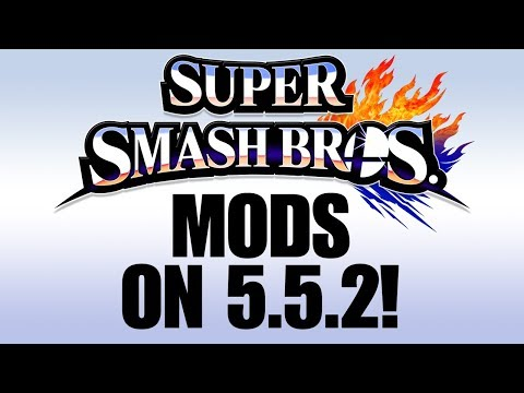 How to Load Smash 4 Mod Packs on Wii U 5.5.2!
