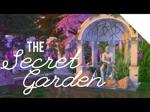 The Sims 4 Building a Secret Garden