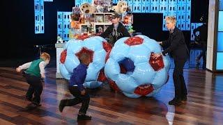 Ellen's Adorable Toy Testers