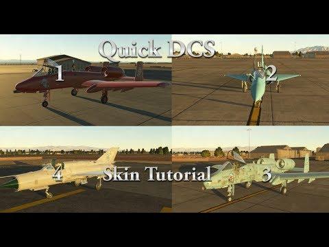 Quick DCS Skin Tutorial