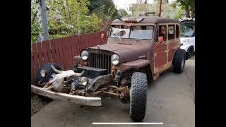 Apocalypse Jeep?!? We check out the most insane car advertised in our town!