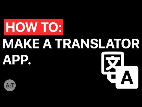Tutorial: Making a Simple Translator