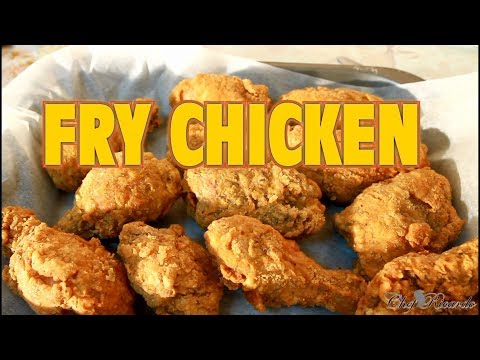 The World'S Best Fried Chicken Recipe /How To Fry Fried Chicken | Recipes By Chef Ricardo