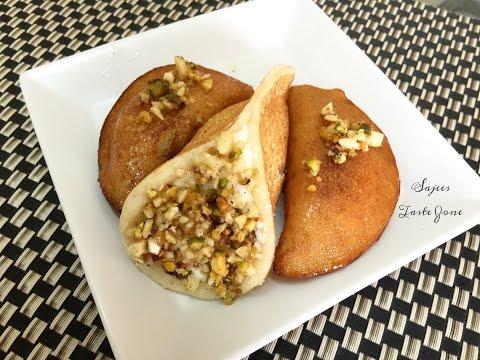 Qatayef & Qatayef Asafiri    Atayef   Middle Eastern Dessert   Ramadan Recipe