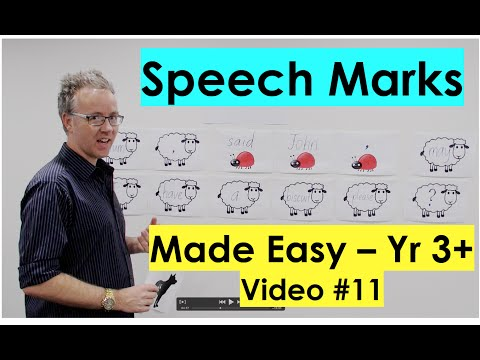 How To Use Speech Marks
