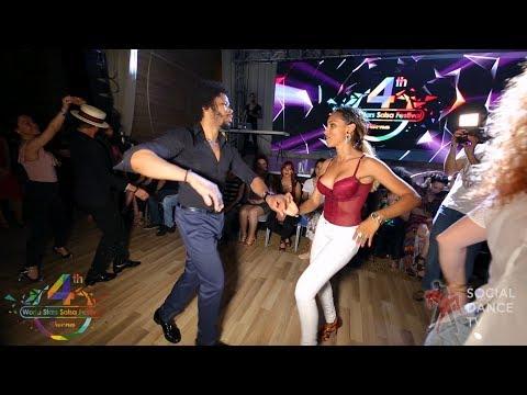 Terry SalsAlianza & Bersy Cortez - Salsa social dancing | 4th World Stars Salsa Festival