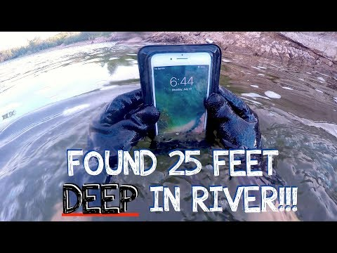 River Treasure: I Found a Working iPhone 7 PLUS, GoPro, Keys, Money (iPhone Returned to Owner!!!)