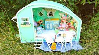 Download NEW OMG LOL Surprise Glamper Car DIY ! NEW Dollhouse DIY ! Video