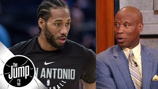 Bryon Scott comments on reported Kawhi Leonard-Spurs issues   The Jump   ESPN