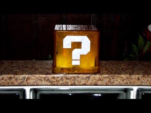 DIY - Luminária Question Block | Mario | Nintendo