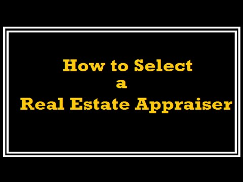How to Select a Real Estate Appraiser - A Quality Appraisal - 503.781.5646