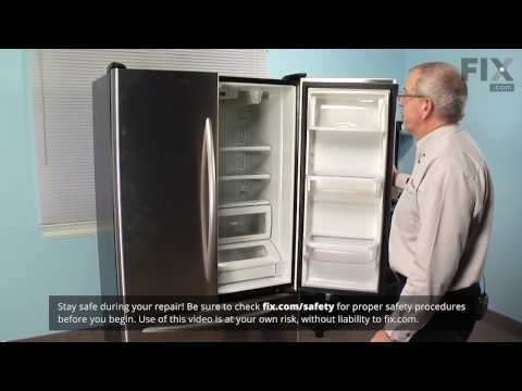 Amana Refrigerator Repair – How to replace the Ice and Water Filter