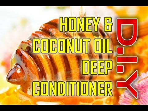 Natural Hair Coconut Oil Honey Deep Conditioner