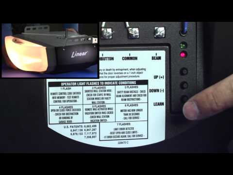 Linear LDCO800: How to Program/Delete Remotes, Transmitters & Keypad codes