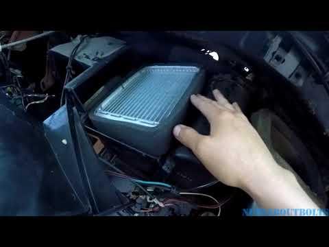 1984 Fox Body Mustang SVO heater core replacement