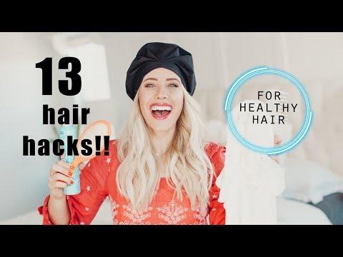 13 Hair Hacks for HEALTHIER hair!! | Twist Me Pretty