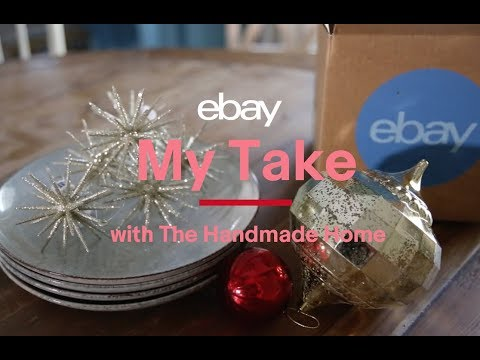 eBay | My Take with The Handmade Home | Our Favorite Tabletop Trends for the Holidays