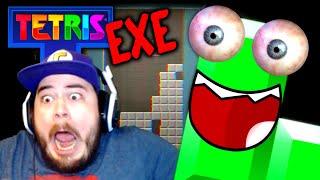 WHY IS THIS TETRIS GAME SO SCARY?! | Tetris.EXE (A Creepypasta Horror Game)