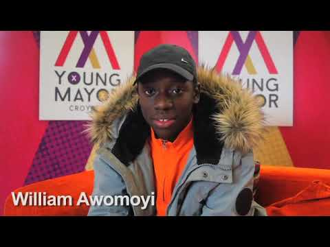 Croydon Young Mayor candidate - William Awomoyi