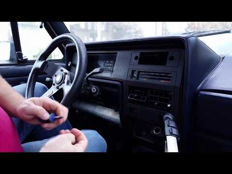 How to Replace an 84' VW Rabbit GTi Light Switch