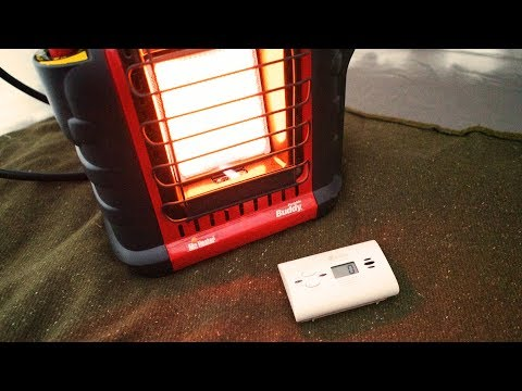 Can you get Carbon Monoxide Poisoning using a Propane Heater in a Tent? - 16 Hour Test. (Mr. Heater)