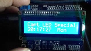 Temporizador: Arduino LCD